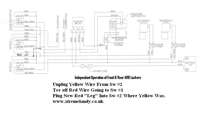 arb independant operation wiring image downloadable manuals arb ckma12 wiring diagram at fashall.co
